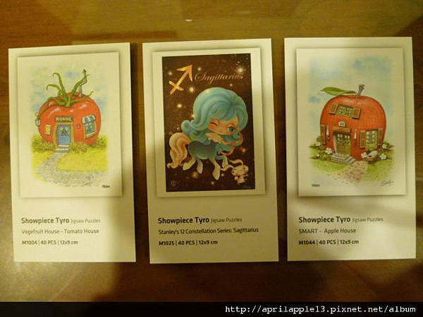 紅蘋果屋內附的小卡片