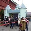 城堡造型售票處