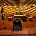 蒙古包內部