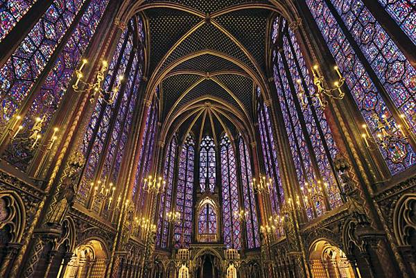 c17-609聖なる礼拝堂 サント・シャペルーフランス
