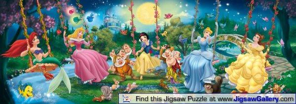 Swinging Princesses