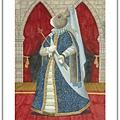 H1139 SMART - 芭比兔 - 藍底花紋裙.jpg