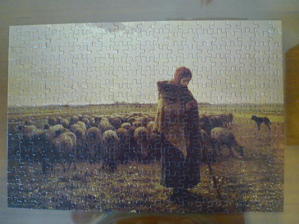 牧羊女完成圖