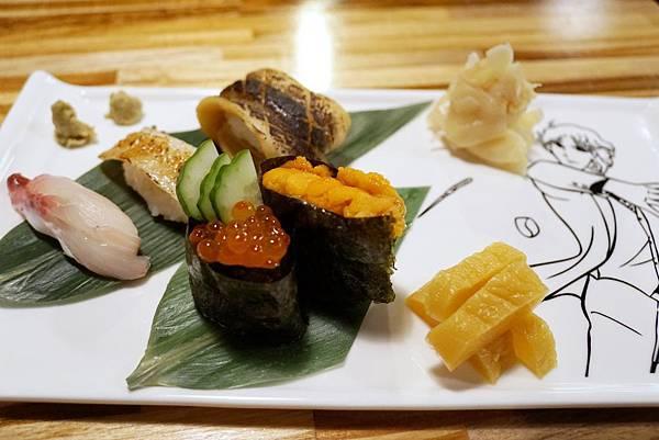 「總合握壽司」