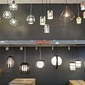 華麗+日式 開燈