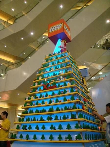 DREAM MALL的LEGO聖誕樹