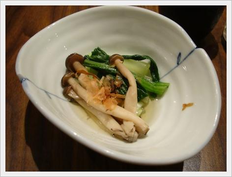 滑蛋豬排附的青菜.JPG