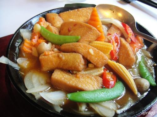 鐵板(蛋)豆腐