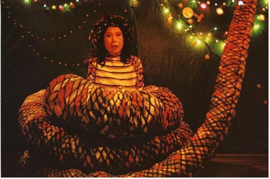 熱帶魚-百年難得一見巨蛇娘娘