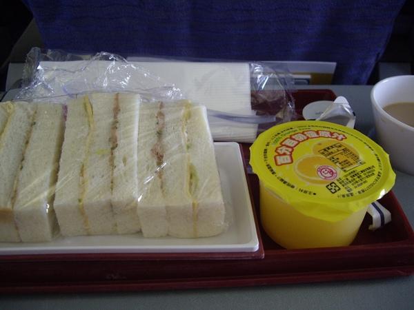 機上的一餐