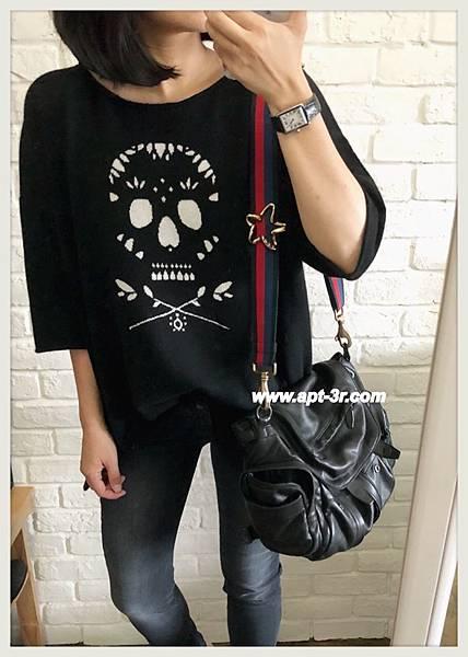 360 Sweater  Skull Cashmere Seraphina 羊絨衫(黑)2.jpg