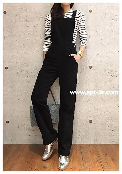 AG Denim Gwendolyn 吊帶褲(黑)3.jpg