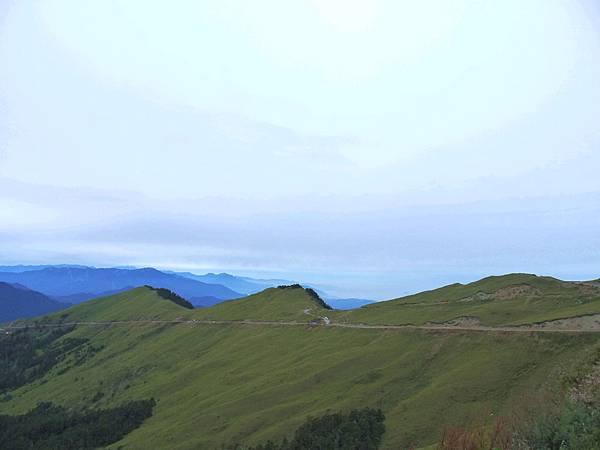 美麗的山脈