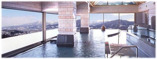 瞭望溫泉大浴池