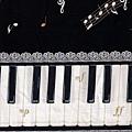 鋼琴音符寬幅布(下半)
