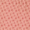 粉紅波紋水玉點點印花布