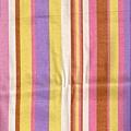 彩色條紋丹寧印花布