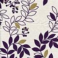 樹葉印色帆布