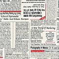 報紙印刷棉布