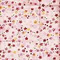 粉紅彩色小櫻花布