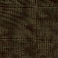 茶色信件風格印花棉布