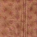褐色小花紋路印花布