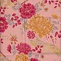 牡丹菊花印花棉布
