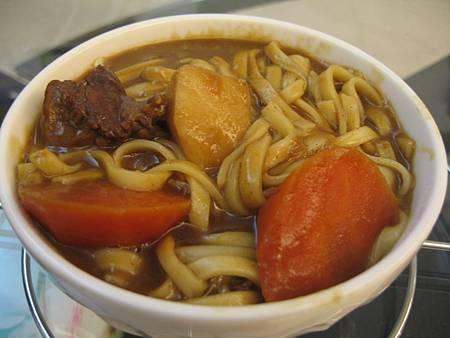 0814咖哩麵