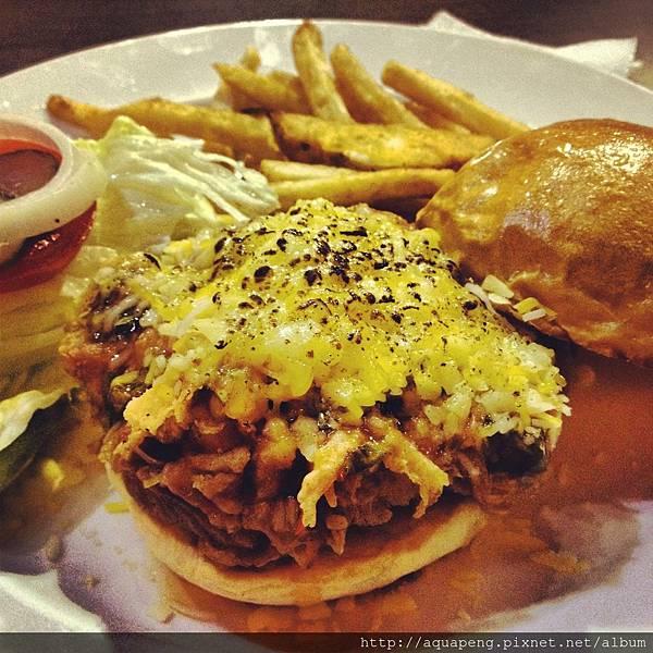SEESAW椒麻雞漢堡