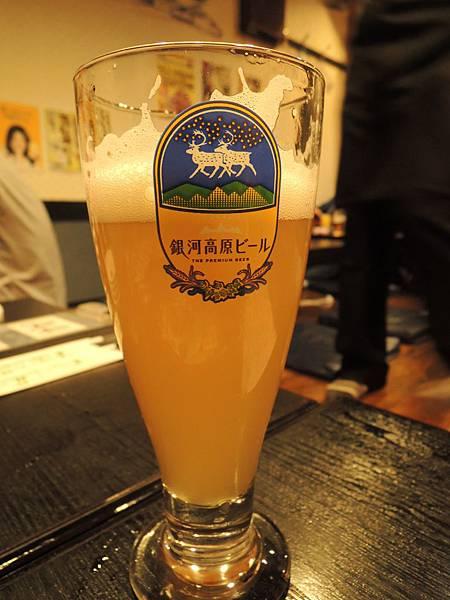 當地的啤酒,很好喝喔!