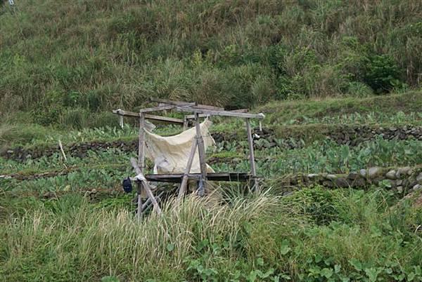 蘭嶼人休憩的小棚子