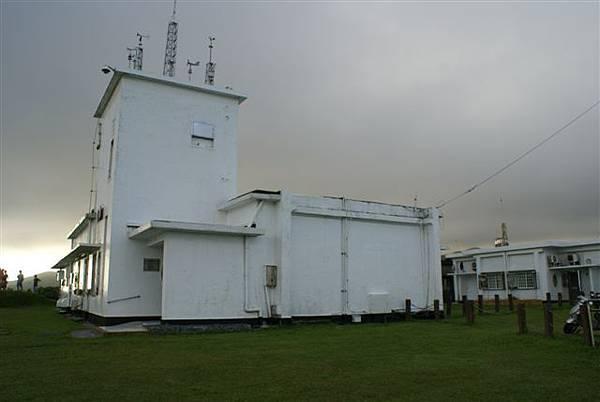 氣象觀測站,在山上喔