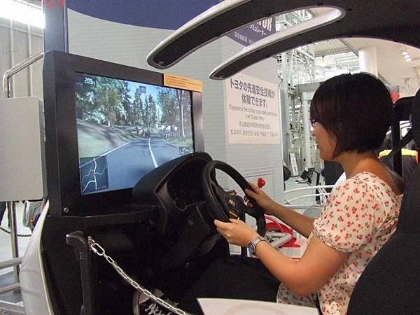 簡直是電動啊,還可以虛擬實境開車