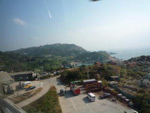 在直昇機上,看到東引的土地.jpg