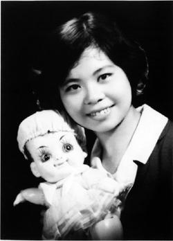 年輕時的陳樹菊。