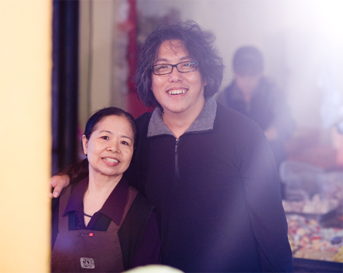 陳樹菊與劉永毅