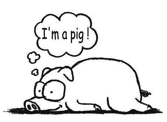 我是小豬!