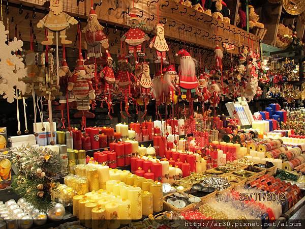 聖誕市集攤位