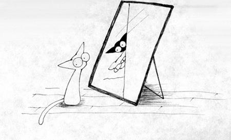 鏡子裡的愛麗絲世界