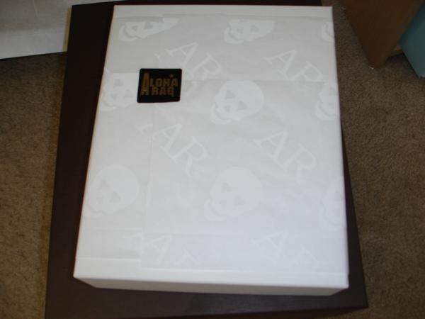 AR的包裝紙