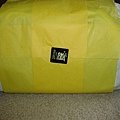 這次比較草率的黃色包裝紙