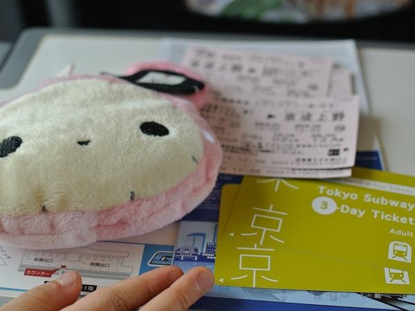 「省時、省錢、方便」的東京地鐵72小時券~可加購SKYLINER來回票~