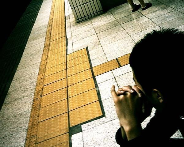 小白等火車