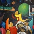 《泰迪熊》,2002年,油彩、畫布,50P。