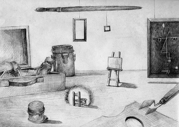 《把您的學生,擺在最好的位置》,2005年,鉛筆、紙。