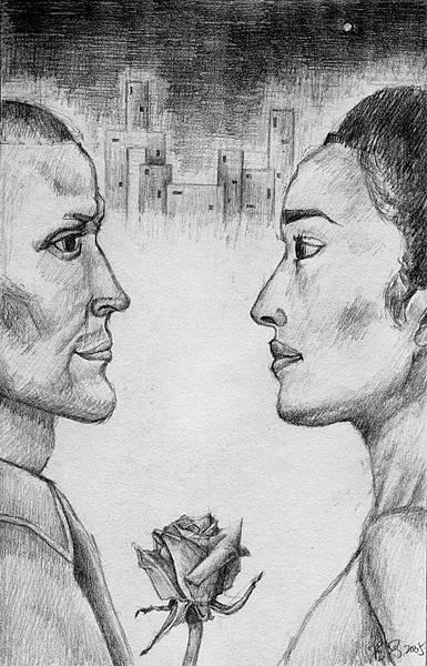《游於藝,寄於情》,2005年,鉛筆、紙。
