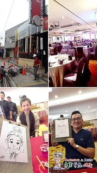 阿奇 肖像 來賓 活動 漫畫 繪製 貴賓 手繪 現場 生日 專業 行銷 廠商 Q版畫 似顏繪 人像 Q版 漫畫人像001.jpg