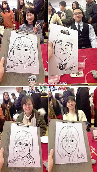 阿奇  肖像  來賓  活動  漫畫  繪製  貴賓  手繪  現場  生日  專業  行銷  廠商  Q版畫  似顏繪 人像  Q版  漫畫人像004.jpg