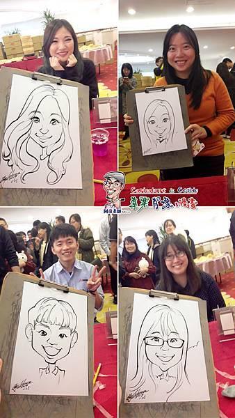 阿奇  肖像  來賓  活動  漫畫  繪製  貴賓  手繪  現場  生日  專業  行銷  廠商  Q版畫  似顏繪 人像  Q版  漫畫人像006.jpg