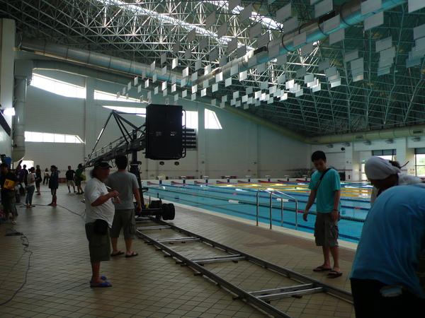 游泳池內景
